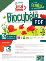 Biocybèle - Programme 2013