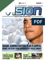 CNY Vision Week of May 2 - 8, 2013