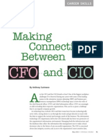 Making Connections Between CFO and CIO - Strategic Finance May 2013