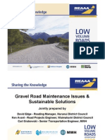Maintenance of Unsealed Roads 2009