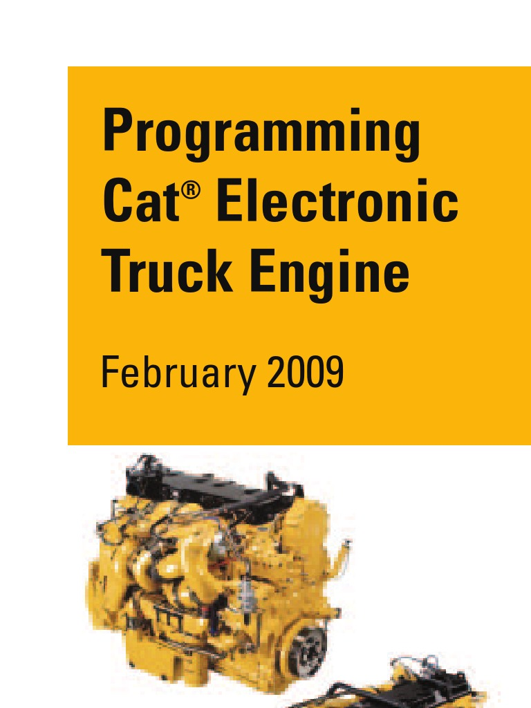 cat programming manual transmission mechanics diesel engine