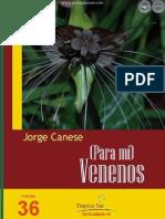 Para Mi Venenos - Jorge Canese - Paraguay - Portalguarani