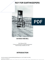 eBook - Wind Power - Savonius Generator - Wind Energy for Earth Keepers Savonius Wind Mill