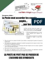 Tract période estivale 2 mai 2013