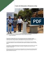 02-05-2013 Diario Cambio - Arranca RMV Centro de Educación a Distancia en San Pedro Cholula.pdf