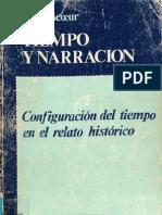 Paul Ricoeur - Tempo y narración. Libro1
