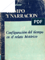 Paul Ricoeur - Tempo y narración. Libro1