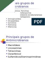 Infectologia -  Principais grupos de antimicrobianos e principios para uso racional