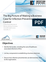 The Big Picture of Making the Business Case for Infection Prevention and Control