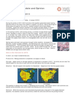 Energy Market Update and Opinion Nov 27 2012