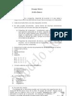 Prueba de Lenguaje y Comunicaci+¦n N-¦1 para 8-¦ B+ísico