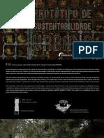 Protótipo de sustentabilidade urbana - manual