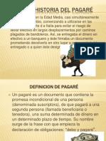 PRESENTACION SOBRE EL PAGARÉ
