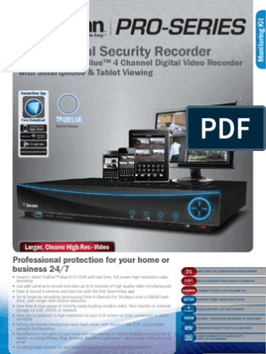 1795dvr4 4000 dvr only swdvr 44000h us-4 | Digital Video Recorder