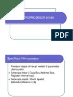 Evolusi Mikroprosesor 80x86 [Compatibility Mode]