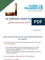 Presentacion Violencia 11 Septiembre