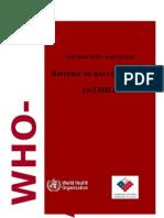 Informe Evaluación Sistema SM en Chile OMS