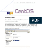8. Roaming Profile Centos