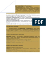 MODELOS EPISTEMOLÓGICOS