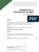 Tendencias de La Pedagogia en Colombia Alfonso Tamayo