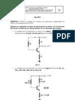 Taller Circuito de Polarizacion Estabilizado en Emisor