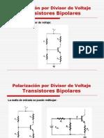 Polarizacion Por Divisor de Voltaje