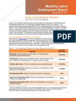 Monthly Latino Employment Report - May 2013