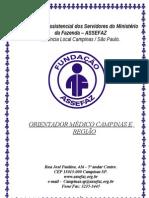 ORIENTADOR MÉDICO CAMPINAS E REGIÃO - FEVEREIRO -2013
