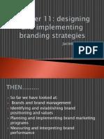 designing & implementing branding strategies