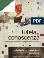 Tutela e conoscenza:archeologia preventiva nella provincia di Taranto