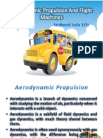 Aerodynamic Propulsion and Flight Machines - 2003