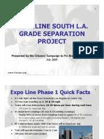 Expo Line South LA Grade Separation Project