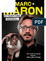 Marc Maron on Whole Foods - from Attempting Normal by Marc Maron