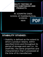 Stability Testing of New Drug Substances and Products