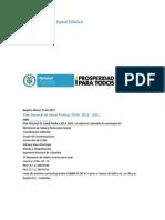 Plan Decenal - Documento en consulta para aprobación