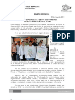 03/05/13 Germán Tenorio Vasconcelos unidades Especializadas de Los Sso Combaten Diabetes y Obesidad en El Istmo