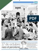 Tapa Suplemento Peronismo