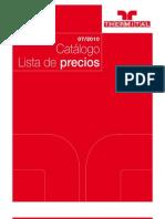 Colectores Solares,Catalogo Precios 2010