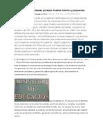 CIPER_Lucro en Las Universidades Privadas
