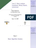 ECE750_F2008_Algorithms2
