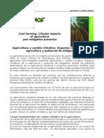 Agricultura y Cambio Climatico