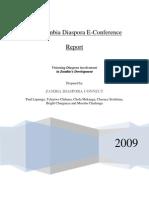 2008 Zambia Diaspora eConference Report