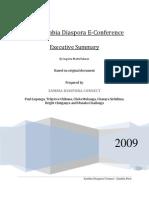 2008 Zambia Diaspora eConference Executive Summary