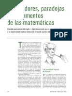 Chaitin, Gregory - Ordenadores, paradojas y fundamentos de las matem�ticas.pdf