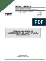Normas Generales Para Diseo de Acueductos (INFOM)