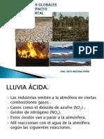 9° EFECTO INVERNADERO- LLUVIA ACIDA