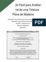 Tutorial _FTOOL_Estrutura de Madeira