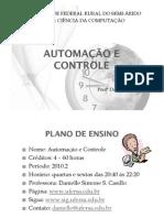 Aula 01 - Automação e Controle
