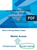 Renewable and Alternative Energy - Alberta