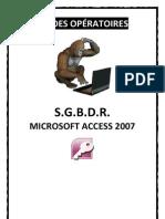 Mode Operatoire Access 2007